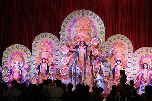Bengal Club Durga Puja 77 Th Year Shivaji Park Mumbai by firoze shakir photographerno1