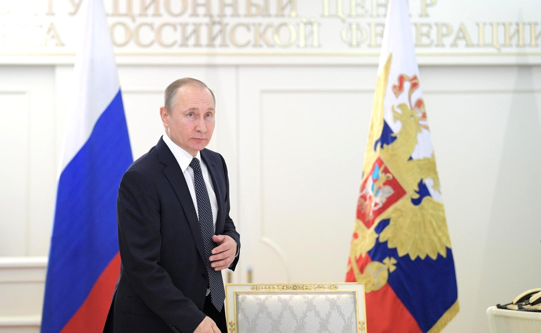 Врежиме видеоконференции Владимир Путин дал старт работе газопровода Бованенково– Ухта-2, нефтепроводов Заполярье– Пурпе иКуюмба– Тайшет.