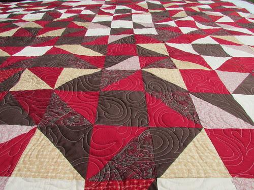 Leigh's Quilt #2 detail
