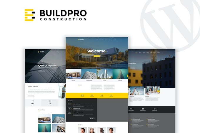 BuildPro - Business & Construction WordPress Theme