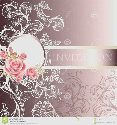 Elegant wedding background design lovely elegant wedding