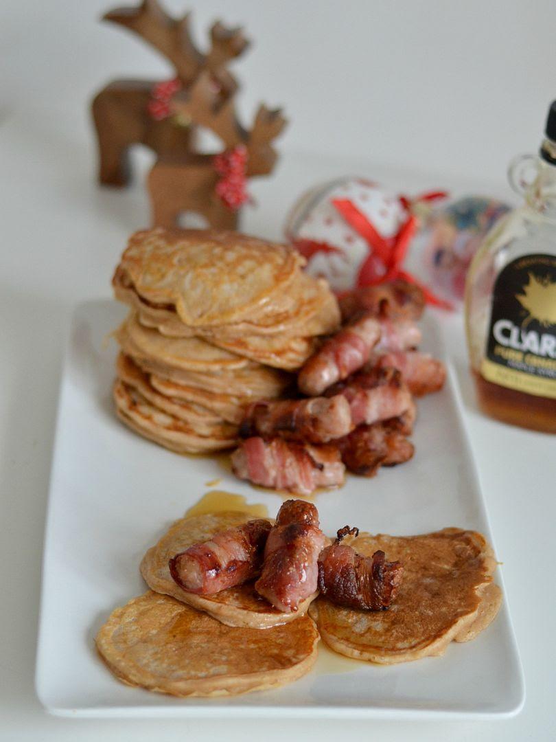 Christmas Breakfast - Pigs In Blankets & Cinnamon Pancakes