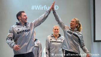 Презентация формы олимпийской сборной Германии