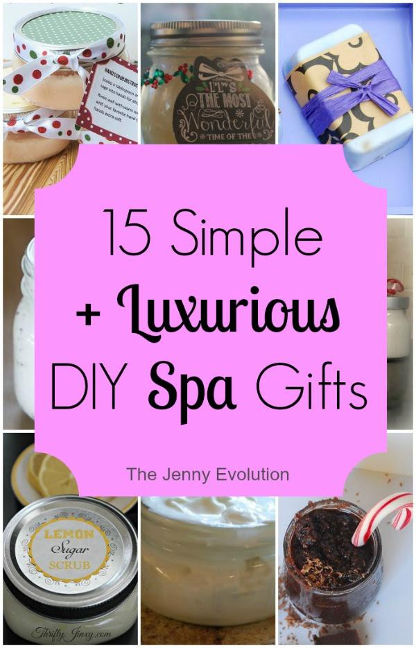 DIY Spa Gifts by The Jenny Evolution