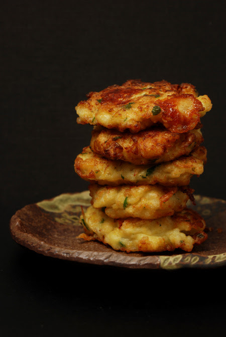 cauliflower fritters© by Haalo