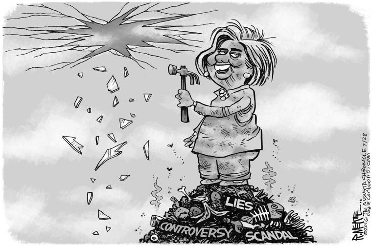 Image result for glass ceiling hillary cartoons