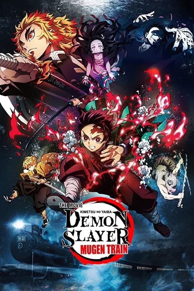Demon Slayer the Movie: Mugen Train (2020) BluRay Dual Audio [English DD2.0-Japanese DD5.1] 480p, 720p & 1080p HD | 10bit HEVC ESub