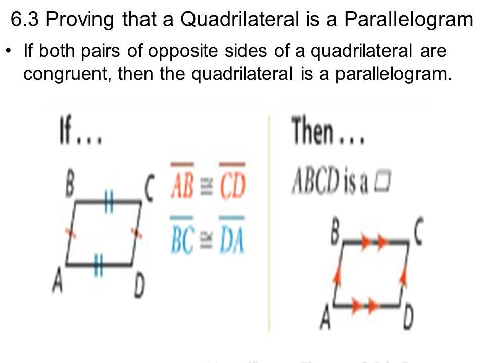 無料ダウンロード 6 3 Practice Proving That A Quadrilateral Is A ...