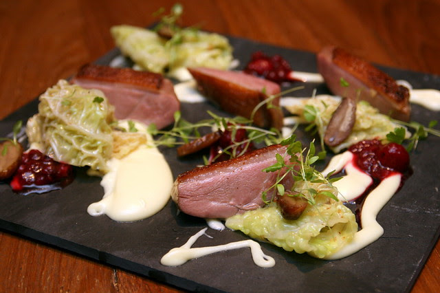 House smoked duck breast (Challans from France)