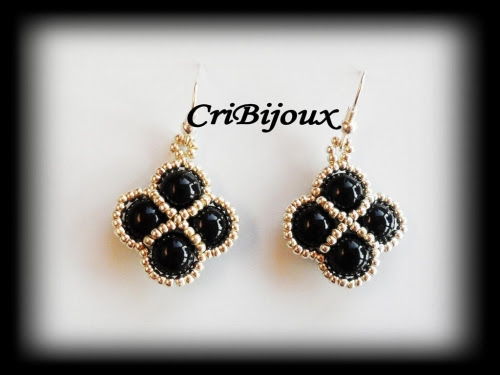 orecchini perle nere argento