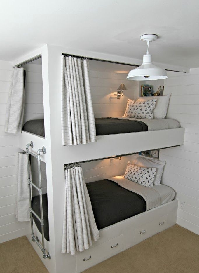25 Functional And Stylish Kids' Bunk Beds With Lights ...