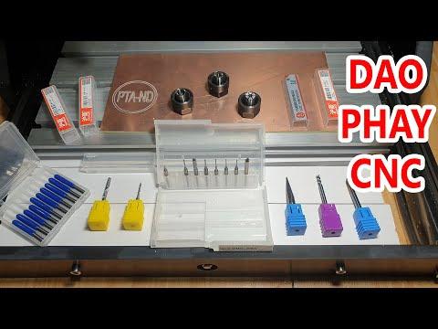 Hướng dẫn chọn dao phay khắc phù hợp cho máy CNC
