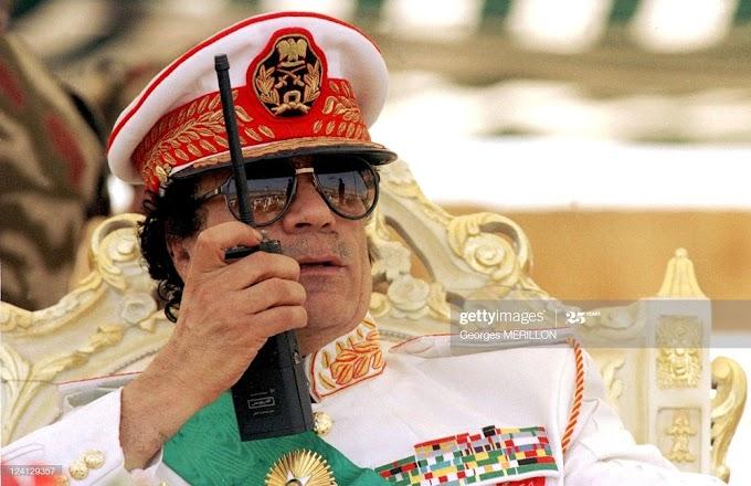 Uburyo Gaddafi yigeze gutega utwuma dufata amajwi intumwa z'u Rwanda zirimo na Perezida #rwanda #RwOT