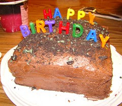Swamis birthday cake
