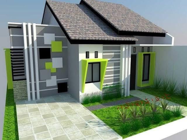 Kombinasi Warna Cat Rumah Hijau Ide Warna Rumah
