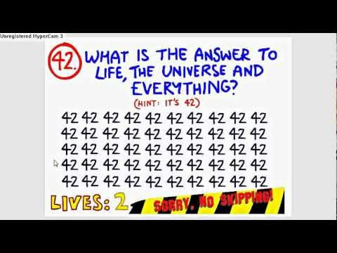 88 ANSWER FOR IMPOSSIBLE QUIZ QUESTION 15, IMPOSSIBLE FOR ...