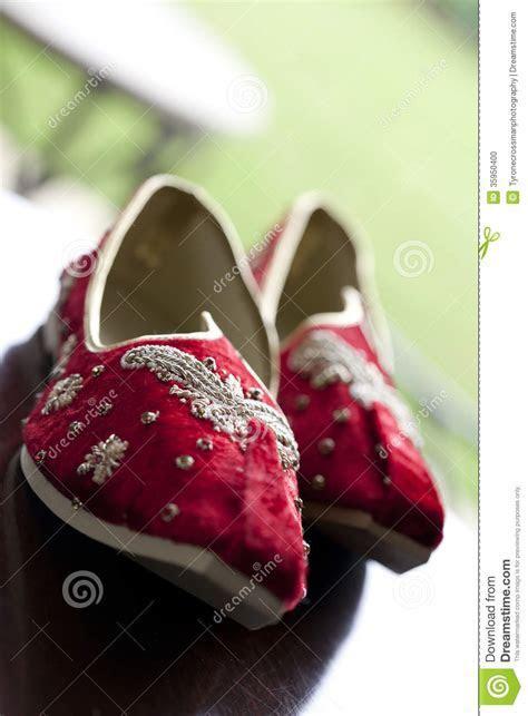 Indian Wedding Shoes Stock Photo   Image: 35950400