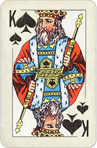 King Of Spades Planetary Ruling Card Free Destiny Cards Reading