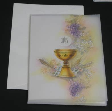 Italian Communion invitations