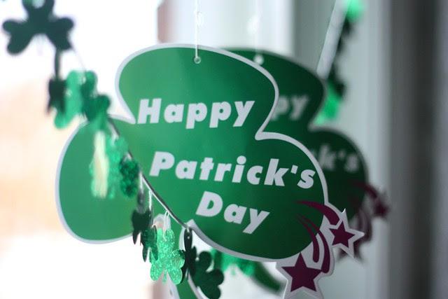St Patrick's Day kisses