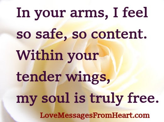 In Your Arms Love Messages From The Heart