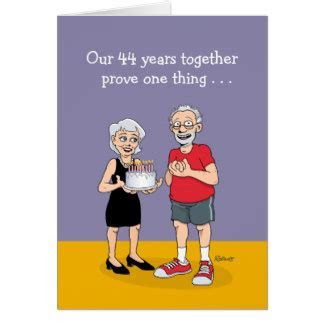 44th Wedding Anniversary T Shirts, 44th Anniversary Gifts
