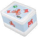 Whimsical Sea Critters Igloo Can Cooler