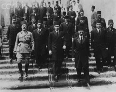 Young King Farouk arriving from London
