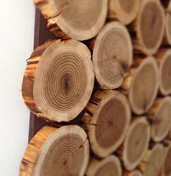Cedar Wood Wall Hanging   Charlotte Hupfield Ceramics