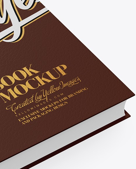 Download Download Leather Box With Book Mockup Half Side View Psd Yellowimages Free Psd Mockup Templates PSD Mockup Templates
