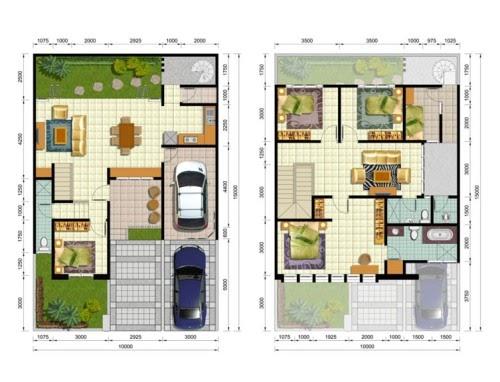 Top Konsep 20+ Desain Rumah Type 36 Menurut Fengshui