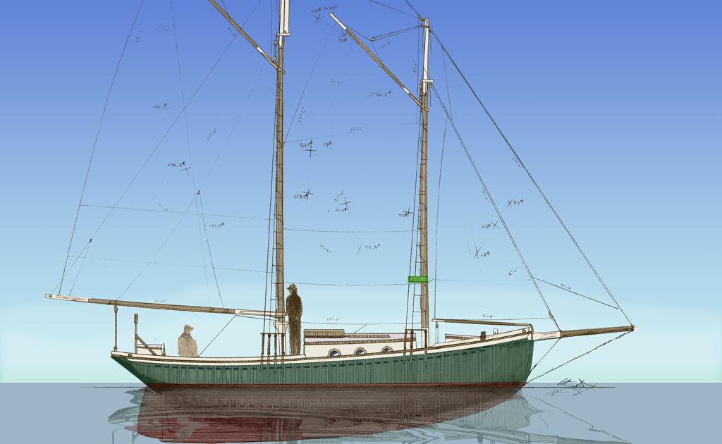 jonny salme: Small sailing boat plans