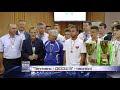 """Гравців """"Тепловика-ДЮСШ-3"""" вшанували у міській раді (ВІДЕО)"""