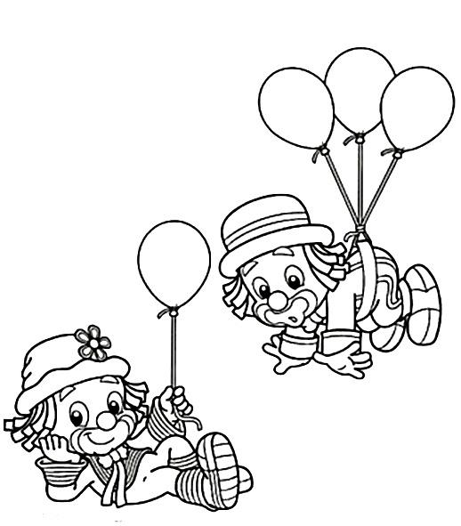 Circo Para Colorear Pintar E Imprimir