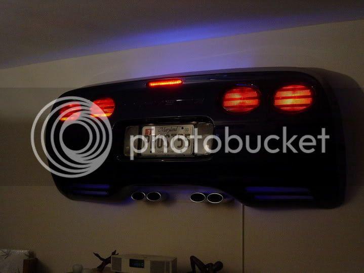 Chopped Up Stock Bumper To Make Some Wall Art Pic S Corvetteforum Chevrolet Corvette Forum Discussion