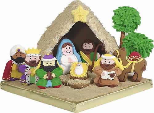 Gingerbread Nativity