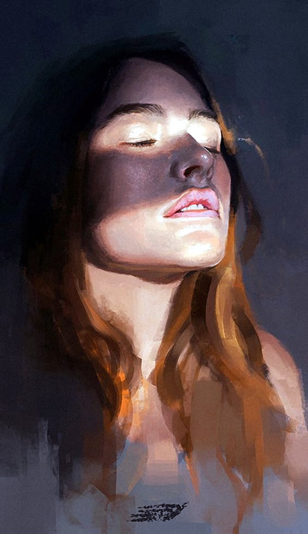 Spectacular Digital Painting Portraits (32)
