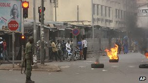 Malian soldiers overthrew the government on March 21, 2012. The TV station was seized with very little resistance shown by pro-Toure forces. by Pan-African News Wire File Photos