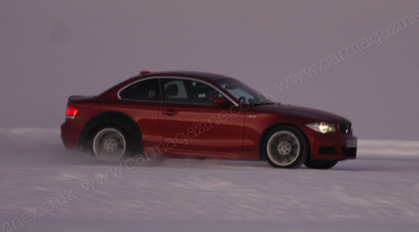 Spy Photos of the BMW M1 Coupe