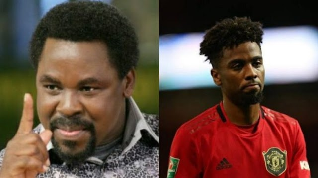 Manchester United youngster explains visit to T.B Joshua