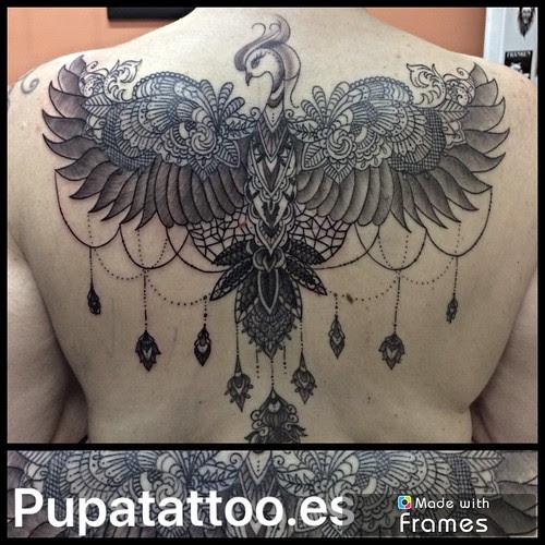 Tatuaje Ave Fénix Pupa Tattoo Granada A Photo On Flickriver