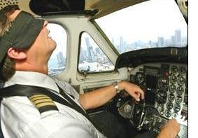 Dormindo no Cockpit