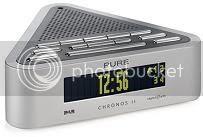 Chronos II Stylish DAB dan FM Clock Radio
