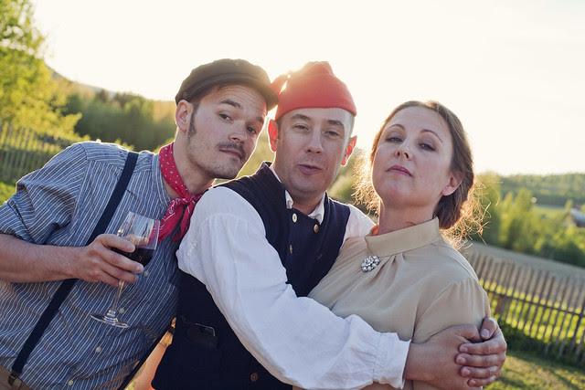 bröllopsfest i järvsö
