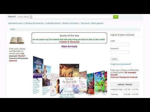 How to koha OPAC New Arrivals Books Display (Koha CoverFlow plugin) koha 20.5