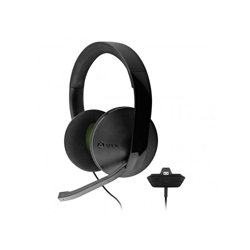 Xbox One Stereo Headset with Stereo Adapter Refurbished