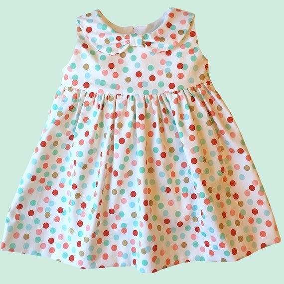 Fun And Easy Summer Baby Dress Sewing Pattern