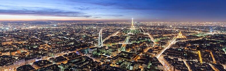 Toàn cảnh Paris nhìn từ tháp Montparnasse, 2008