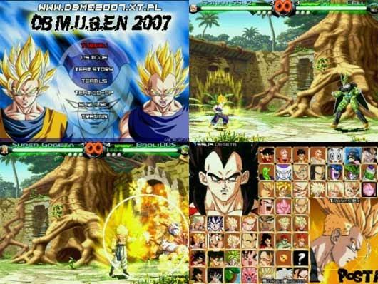Download Game Free Dragonball Mugen Edition 2007 [203MB ...