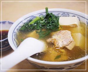 「三州屋」の鳥豆腐。たしかなまんぞく。